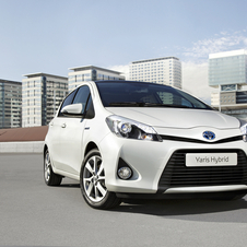 The Yaris Hybrid is among Toyota's best selling hybrids in Europe