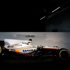Sergio Perez and Esteban Ocon will drive the new VJM10 in 2017