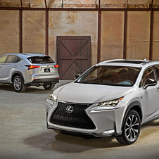 The NX represents Lexus' first entry into the mid-size SUV market