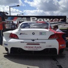 The car will take over for the M3 GT in the ALMS