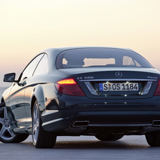 Mercedes-Benz CL 500 4MATIC BlueEFFICENCY