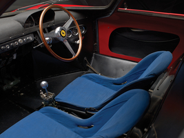 The interior was quite basic to fit its racing roots