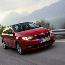 Skoda Rapid Spaceback 1.6 TDI Ambition