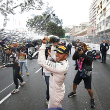 Hamilton took his 44th career win and the first since he won the third world championship at the United States Grand Prix