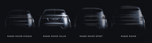 The new Range Rover Velar will sit between the Range Rover Evoque and Range Rover Sport