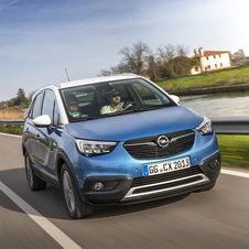 Opel Crossland X 1.2 Turbo ECOTEC Edition