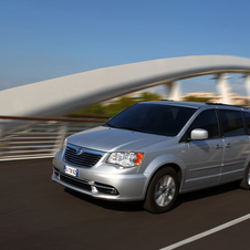 Lancia Voyager Brings Chrysler Minivan to Europe