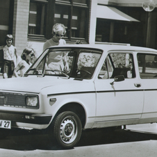 Fiat New 128 1100 Saloon