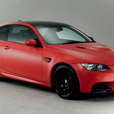 The new colors include BMW Individual Japan Red with a Frozen Red wrap.