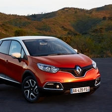 The Captur shares a platform with the new Clio