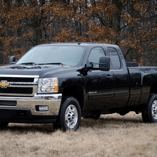 The vehicles include Silverado pickups and Express vans