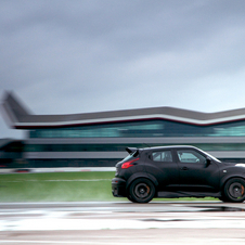 Despite weighing more than the GT-R, the Juke R feels immediately more alert.