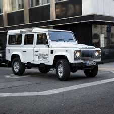 Land Rover Defender Electric Concept