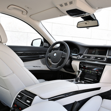 The interior features a larger iDrive screen and better seats