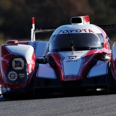 Toyota had only one finished monocoque for the TS030 that has been severely damaged