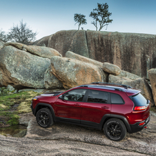 The latest Cherokee uses the same platform as the Dodge Dart