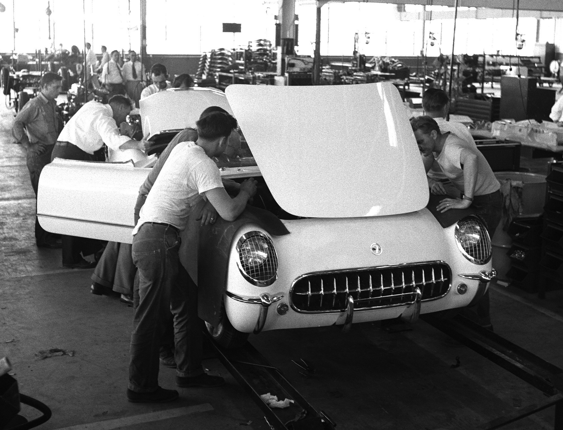 The Corvette Celebrates 60 Years Since the First Car Rolled Off the ...