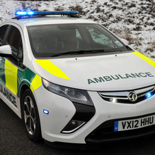 The city of York will test the Ampera as an emergency response vehicle