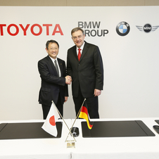 Akio Toyoda and Norbert Reithofer are getting quite collaborative