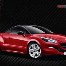 Peugeot RCZ Red Carbon