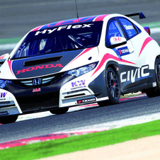 The Civic WTCC uses a new turbo 1.6-liter engine