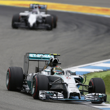 The German driver had a comfortable win in Hockenheim