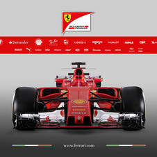 The name SF70H was chosen to honour the 70th anniversary of Ferrari