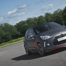 The DS3 Racing Cabrio uses a 1.6-liter engine with 202hp