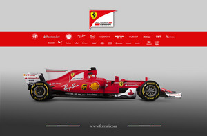 Scuderia Ferrari has adopted the new thumb-tip nose as well as the same 'T-wing' concept as Mercedes