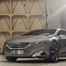Peugeot HX1 Concept Pushes Avant-Garde Design with Plug-in Hybrid Engine
