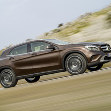 The GLA-Class is also coming in 2014 as the next vehicle on the compact platform
