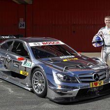 Coulthard has been racing in DTM since 2010