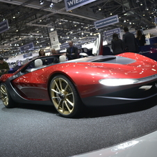 The car is meant to celebrate Sergio Pininfarina