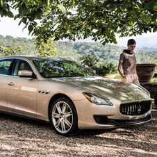 The new Quattroporte has been a major sales success for Maserati