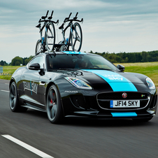 The one-off F-Type Coupé was created by the new Special Vehicle Operations division of Jaguar Land Rover