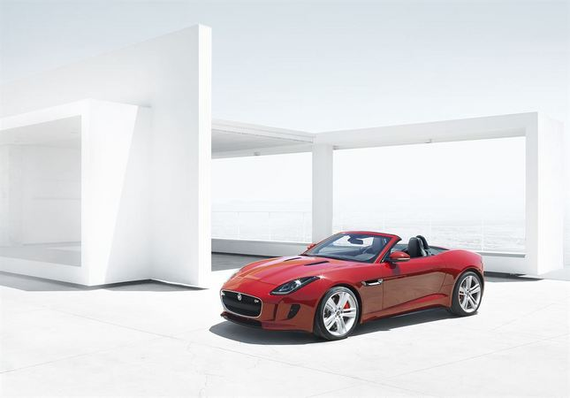 The F-Type was one of the most popular cars of the show