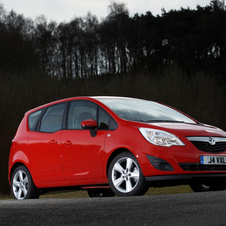 Vauxhall Meriva 1.3 CDTi Excite Limited Edition