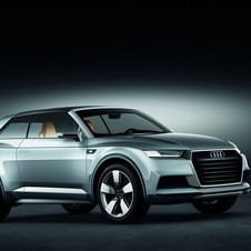 The Crosslane might hint at the look of the next Quattro