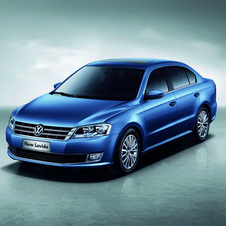 VW also offers the Lavida in China