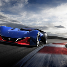 Peugeot turned to hybrid technology to put the L500 R Hybrid on the run