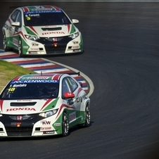Honda will also display its turbocharged WTCC car