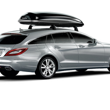 Mercedes offers roof racks in three different sizes