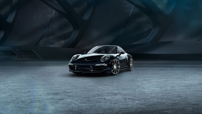 Porsche 911 Carrera 4 Black Edition