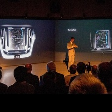 The interior will have a portrait-shaped infotainment system like the Concept C