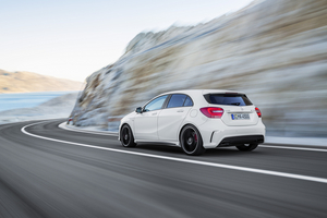 It is the first time that AMG has developed a four-cylinder engine