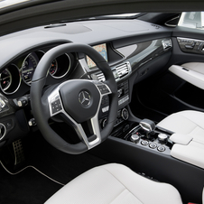 The Edition 1 gets white leather with carbon fiber and black lacquer trim