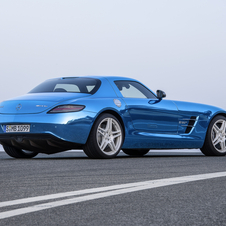 Mercedes-Benz SLS AMG Coupé Electric Drive