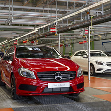 Mercedes compact cars are so popular that Mercedes is adding another shift