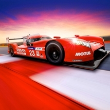 GT-R LM Nismo is powered by a V6 biturbo 3-liter petrol engine and coupled to a kinetic energy recovery system