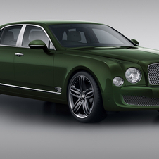 The Mulsanne Le Mans Edition gets an upgraded interior